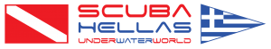 Scuba Hellas | UnderWaterWorld | Scuba Greece Logo