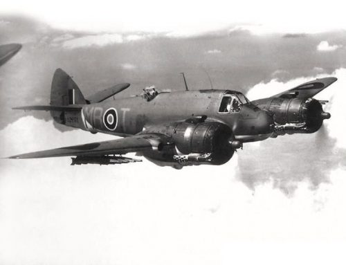 BRISTOL BEAUFIGHTER TYPE 156 At Naxos